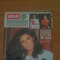 Coleccionismo de Revista Hola: REVISTA HOLA -Nº 2129-- 15 DE JUNIO 1985. Lote 101308335