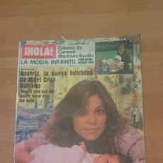 Coleccionismo de Revista Hola: REVISTA HOLA - Nº 2123-- 4 DE MAYO DE 1985--. Lote 101308619