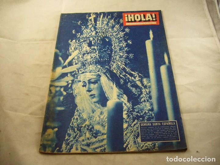 REVISTA HOLA 760 21 DE MARZO DE 1959 (Coleccionismo - Revistas y Periódicos Modernos (a partir de 1.940) - Revista Hola)