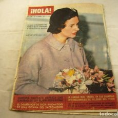 Coleccionismo de Revista Hola: REVISTA HOLA / Nº 996 / 28 SEPTIEMBRE / 1963. Lote 101439787
