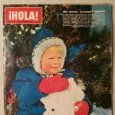 Coleccionismo de Revista Hola: REVISTA HOLA - N° 1165 - AÑO 1966 - FRANCO -. Lote 101788602