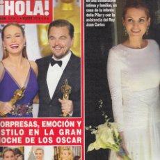Coleccionismo de Revista Hola: REVISTA HOLA Nº 3736 AÑO 2016. BODA BELTRAN GOMEZ-ACEBO Y ANDREA PASCUAL. GALA DE LOS OSCAR. . Lote 102500259
