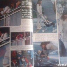 Coleccionismo de Revista Hola: ESTEFANIA DE MONACO - RECORTE REVISTA. Lote 102829531