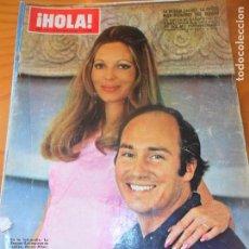 Coleccionismo de Revista Hola: ¡HOLA! Nº 1378 DE 1971- BEGUM SALIMA- COCO CHANEL- JUNIOR ROCIO DURCAL- BRITT EKLAND- KARINA- ADAMO . Lote 103144959