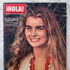 Coleccionismo de Revista Hola: HOLA - 1971 - TARYN POWER, MASSIEL, BRIGITTE BARDOT, FARAH, JOHNNY HALLYDAY, FINA ROMÁN, KARINA. Lote 103274239