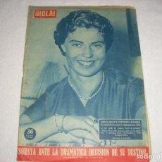 Coleccionismo de Revista Hola: HOLA! N° 707 , MARZO 1958 . EN PORTADA SORAYA. Lote 103308087