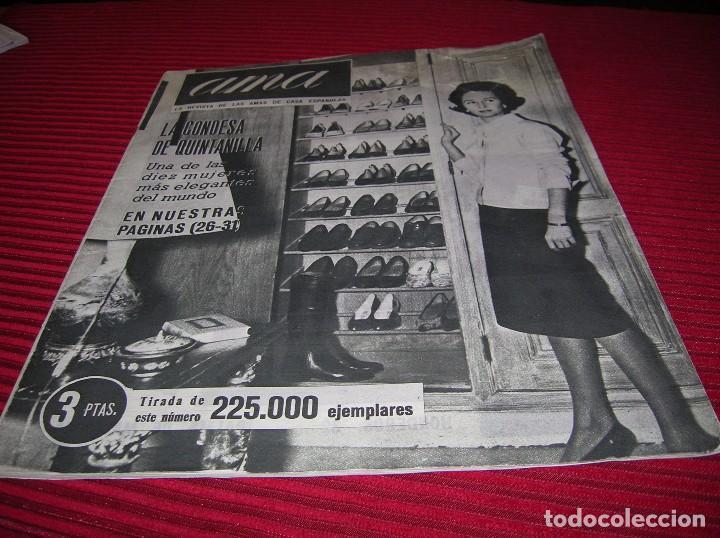 MUY INTERESANTE REVISTA AMA .AÑO 1960 (Coleccionismo - Revistas y Periódicos Modernos (a partir de 1.940) - Revista Hola)