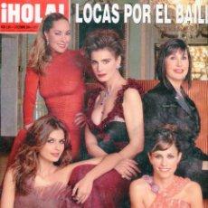 Coleccionismo de Revista Hola: REVISTA HOLA Nº 3254 LOCAS POR EL BAILE- ROCIO CARRASCO-DAVID ROCKEFELLER - ESTEFANIA LUYK AÑO 2006. Lote 104096211