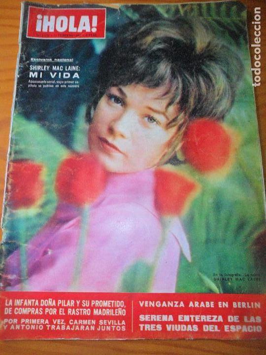 ¡HOLA! Nº 1172 DE 1967- SHIRLEY MACLAINE- MARISOL- CARMEN SEVILLA- JANE FONDA- MARTIN CAROL- IVA ZAN (Coleccionismo - Revistas y Periódicos Modernos (a partir de 1.940) - Revista Hola)