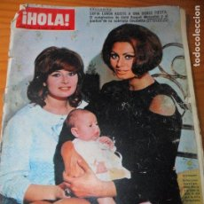 Coleccionismo de Revista Hola: ¡HOLA! Nº 1183 DE 1967- SOFIA LOREN- JAMES BOND- CLAUDIA CARDINALE- BRIGITTE BARDOT- JAYNE MANSFIELD. Lote 104181059