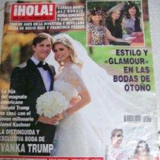 Coleccionismo de Revista Hola: REVISTA HOLA Nº 3405 DEL 4 NOVIEMBRE DE 2009. Lote 104961999