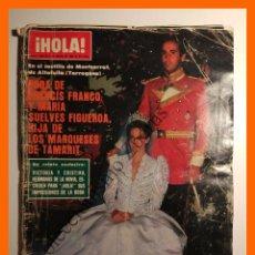 Coleccionismo de Revista Hola: HOLA Nº 1949 - 2 ENERO 1982 - BODA FRANCO SUELVES, TERESA RABAL, SYLVIA KRISTEL, ANGEL CRISTO. Lote 105140795