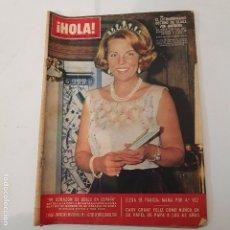 Coleccionismo de Revista Hola: HOLA - Nº 1124 - 12 MARZO 1966. Lote 105364663