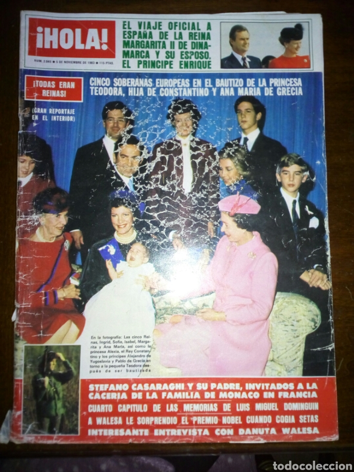 REVISTA HOLA, TODOS ERAN REINAS, NOVIEMBRE 1983, NUMERO 2045 (Coleccionismo - Revistas y Periódicos Modernos (a partir de 1.940) - Revista Hola)