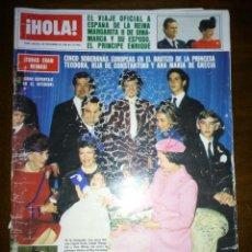 Coleccionismo de Revista Hola: REVISTA HOLA, TODOS ERAN REINAS, NOVIEMBRE 1983, NUMERO 2045. Lote 105382284