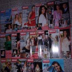 Coleccionismo de Revista Hola: ¡HOLA! LOTE DE 15 REVISTAS.. Lote 105789767