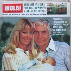 Coleccionismo de Revista Hola: HOLA 1974 1982 GUNTHER SACHS, ANA TORROJA, VICTORIA MARTIN, SALVADOR DALI, DIANA, MARADONA..... Lote 105898907
