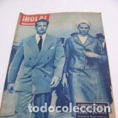 Coleccionismo de Revista Hola: REVISTA HOLA 769 / 1959 / ALBERTO DE BELGICA / PRINCIPES DE MONACO / 1. Lote 106631043