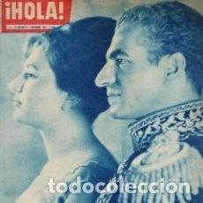 Coleccionismo de Revista Hola: REVISTA - HOLA - Nº 844 - EL SHA DE PERSIA Y FARAH DIBA - JOYAS DE DALI - AÑO 1960 / 1. Lote 106632671