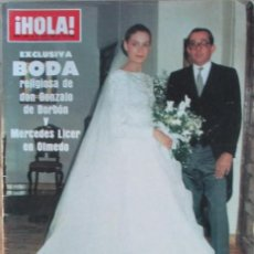 Coleccionismo de Revista Hola: HOLA 2081 1984 ANITA EKBERG, MELISA GILBERT, LITRI, MASSIEL, MICK JAGGER, CAMILO SESTO, MIYA ALI. Lote 106930215