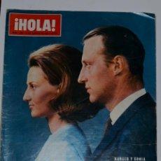 Coleccionismo de Revista Hola: REVISTA HOLA NÚM. 1253 1968 10 PESETAS. Lote 109010347
