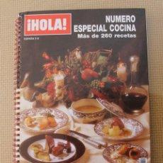 Coleccionismo de Revista Hola: REVISTA HOLA NUMERO ESPECIAL COCINA NUEVO FORMATO PRACTICO CON MAS DE 260 RECETAS EN PERFECTO ESTADO. Lote 109343587