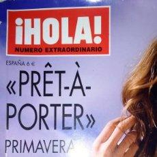 Coleccionismo de Revista Hola: HOLA PRÊT-À-PORTER PRIMAVERA VERANO 2009 NUMERO EXTRAORDINARIO. Lote 110420395