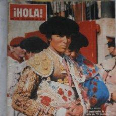 Coleccionismo de Revista Hola: REVISTA HOLA Nº 1.094 EL CORDOBES - FRANK SINATRA - BRIGITTE BARDOT - SOFIA LOREN - JOAN CRAWFORD. Lote 110452571