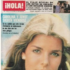 Coleccionismo de Revista Hola: HOLA 1940 1981 MIGUEL BOSE, AGNETHA FALTSKOG (ABBA), ROCIO DURCAL , OLIVIA NEWTON JOHN. Lote 111113311