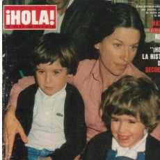 Coleccionismo de Revista Hola: REVISTA HOLA 1815 , 9 JUNIO 1979 ABBA EN ESPAÑA. Lote 111167431