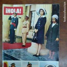 Coleccionismo de Revista Hola: REVISTA HOLA Nº 1446 AÑO 1972 VIAJE PRINCIPES DE ESPAÑA A ETIOPIA. Lote 111513651