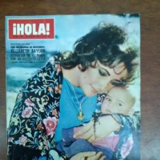 Coleccionismo de Revista Hola: REVISTA HOLA Nº 1430 AÑO 1972 ELIZABETH TAYLOR LUIS MIGUEL DOMINGUIN LUCIA BOSE. Lote 111514123