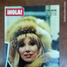 Coleccionismo de Revista Hola: REVISTA HOLA Nº 1429 AÑO 1972 MAURICE CHEVALIER SUSAN HAMPSHIRE. Lote 111514511