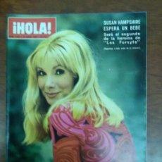 Coleccionismo de Revista Hola: REVISTA HOLA Nº 1444 AÑO 1972 SUSAN HAMPSHIRE. Lote 111516303