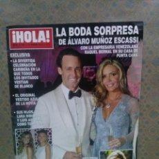 Coleccionismo de Revista Hola: REVISTA HOLA Nº 3.780 - AÑO 2017...EN BUEN ESTADO.. Lote 111547619