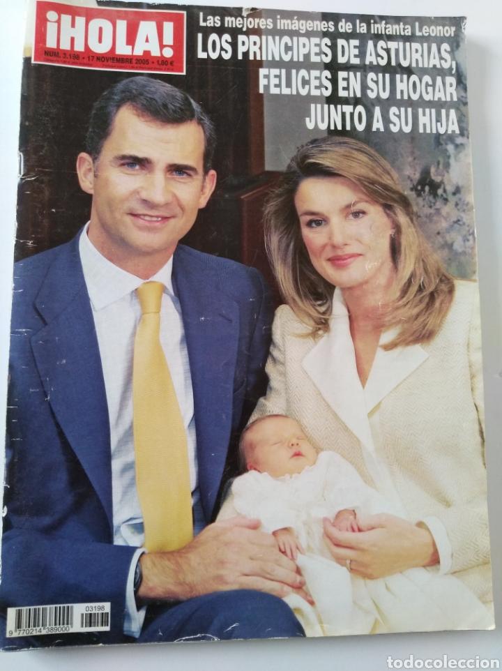 HOLA NOV. 2005 (Coleccionismo - Revistas y Periódicos Modernos (a partir de 1.940) - Revista Hola)