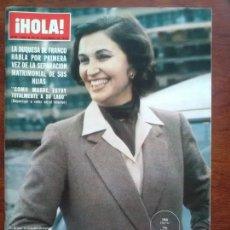 Coleccionismo de Revista Hola: REVISTA HOLA Nº 1844 AÑO 1979 DUQUESA DE FRANCO JULIO IGLESIAS DOCTOR BARNARD. Lote 112240147