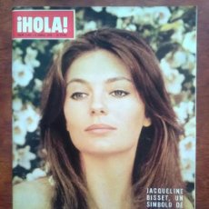 Coleccionismo de Revista Hola: REVISTA HOLA Nº 1441 AÑO 1972 JACQUELINE BISSET JANINE CHARRAT LA POLACA. Lote 112240439