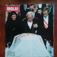 Coleccionismo de Revista Hola: HOLA Nº 1988 AÑO 1982 ENTIERRO GRACIA DE MONACO GRACE KELLYJULIO IGLESIAS. Lote 112240647