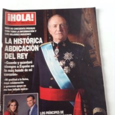Coleccionismo de Revista Hola: REVISTA HOLA JUNIO 2014. Lote 112975424