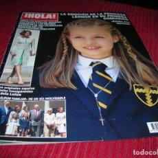 Coleccionismo de Revista Hola: REVISTA HOLA 27 MAYO 2015.PRIMERA COMUNIÓN PRINCESA LEONOR.. Lote 113232751