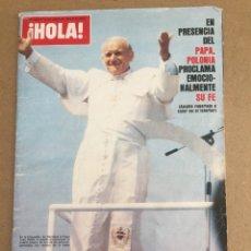 Coleccionismo de Revista Hola: 183L288 REVISTA ¡HOLA! NÚM 1816, 16 JUNIO DE 1979. Lote 115182810