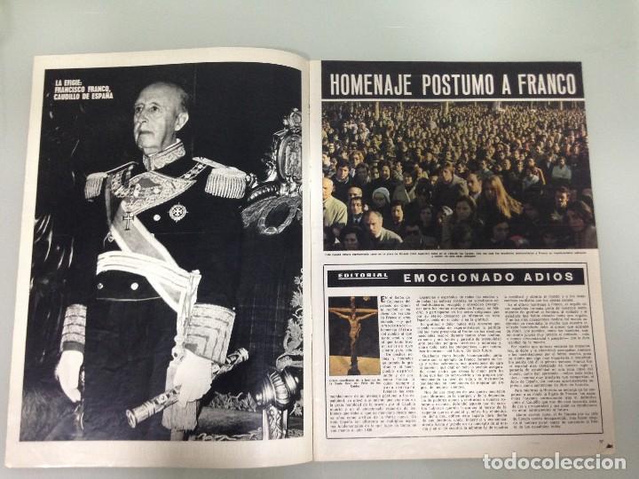 Coleccionismo de Revista Hola: ¡HOLA!, EXTRAORDINARIO,PROCLAMACION JUAN CARLOS REY DE ESPAÑA, HOMENAJE POSTUMO DEL PUEBLO A FRANCO - Foto 2 - 115551011