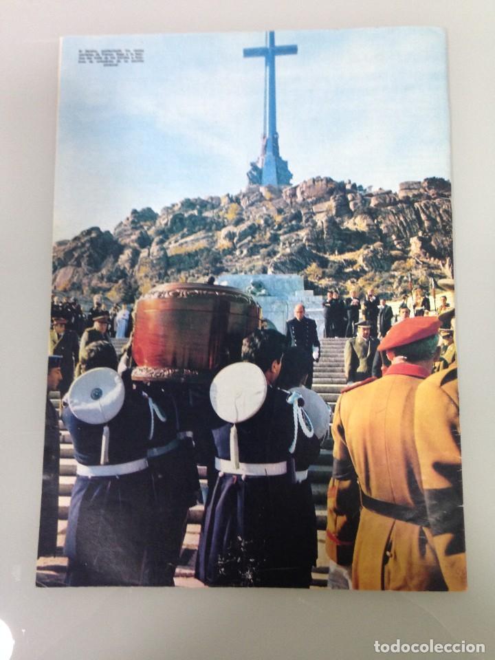 Coleccionismo de Revista Hola: ¡HOLA!, EXTRAORDINARIO,PROCLAMACION JUAN CARLOS REY DE ESPAÑA, HOMENAJE POSTUMO DEL PUEBLO A FRANCO - Foto 3 - 115551011