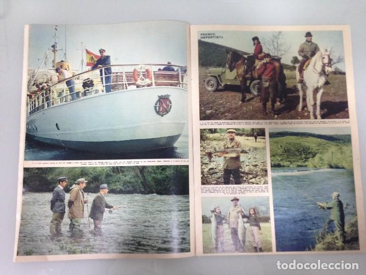 Coleccionismo de Revista Hola: ¡HOLA!,FRANCO HA MUERTO, LA VIDA DEL CAUDILLO Y DEL PRINCIPE DE ESPAÑA, DOÑA CARMEN POLO DE FRANCO - Foto 3 - 115551379