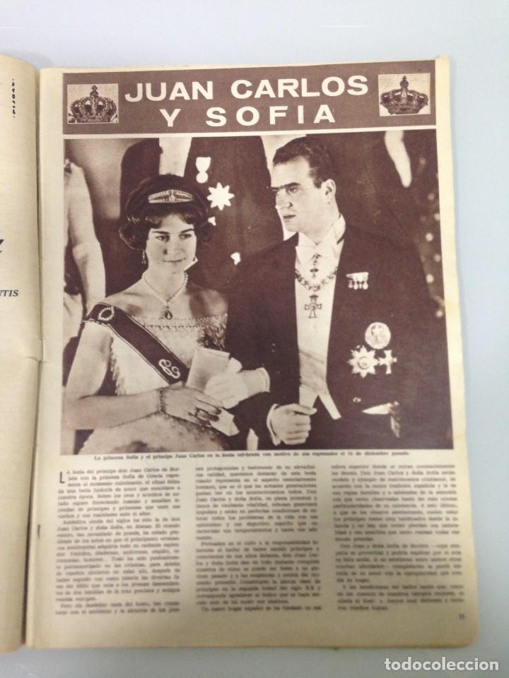 Coleccionismo de Revista Hola: ¡HOLA!,ALBUM DE LA BODA DE SS.RR.LA PRINCESA SOFIA Y EL PRINCIPE JUAN CARLOS DE ESPAÑA 1965 - Foto 3 - 115551791