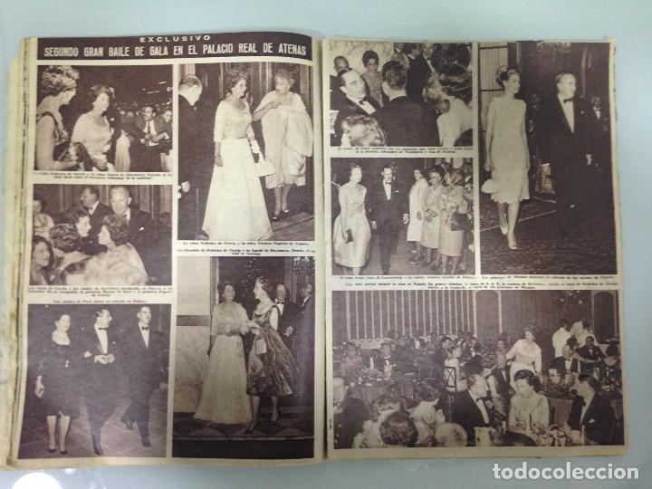 Coleccionismo de Revista Hola: ¡HOLA!,ALBUM DE LA BODA DE SS.RR.LA PRINCESA SOFIA Y EL PRINCIPE JUAN CARLOS DE ESPAÑA 1965 - Foto 4 - 115551791