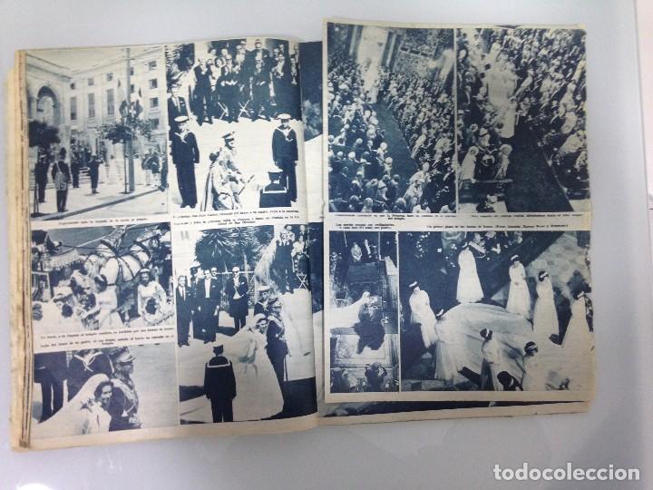 Coleccionismo de Revista Hola: ¡HOLA!,ALBUM DE LA BODA DE SS.RR.LA PRINCESA SOFIA Y EL PRINCIPE JUAN CARLOS DE ESPAÑA 1965 - Foto 5 - 115551791