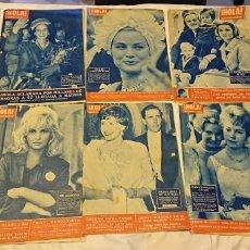 Coleccionismo de Revista Hola: REVISTA HOLA! MAGNÍFICO LOTE DE 40 REVISTAS DE LOS AÑOS 1958,1959 Y 1960. Lote 115596140