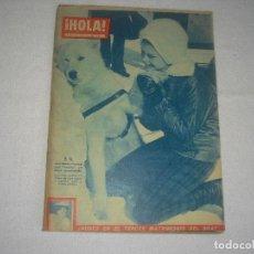 Coleccionismo de Revista Hola: HOLA N° 860 , FEBRERO 1961 . EN PORTADA B. B. BRIGITTE BARDOT. Lote 115764555